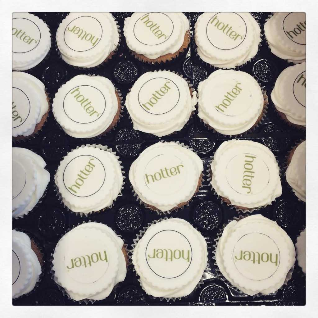 We're celebrated receiving our #QueensAward with #cupcakes - 480 of them #yum thanks @waterfieldsbake