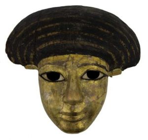 Now on display in the Museum of Wigan Life, this spectacular face reveals that ancient Egypt is often far closer than we might think. Photo courtesy of Museum of Wigan Life, Wigan Council.