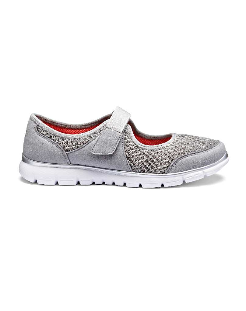 Hover is a touch close fastening super light active comfortable women's shoe