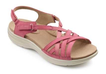 Women's summer sandal Maisie in Dark Pink