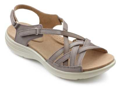 Women's summer sandal Maisie in Truffle