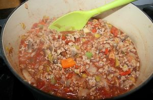 Turkey bolognese and carrot tagliatelle - Step 3