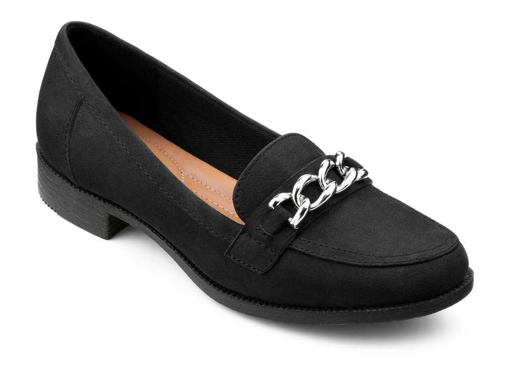 Super comfortable Brierton loafer in black