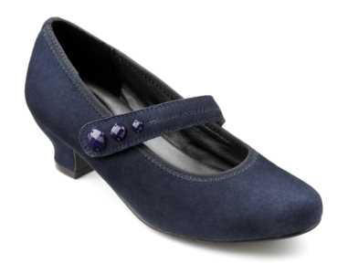 Women's heel Charmaine in Navy