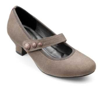 Women's heel Charmaine in Warm Grey