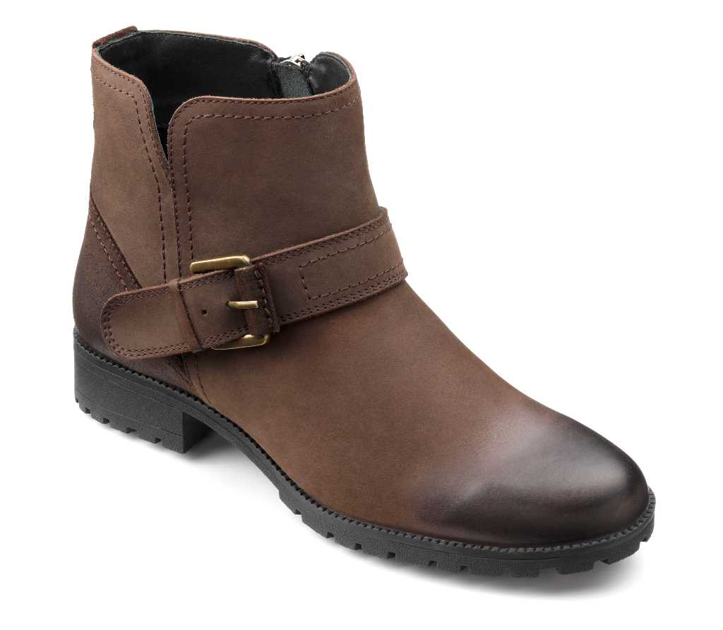 Women's biker boot Lotty in Chocolate