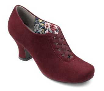 Smart women's heel Stephanie in colour Maroon