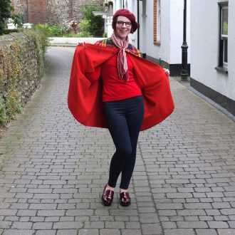 Vintage blogger Jenny Mearns recreates a 1960s look with smart shoe Crimdon