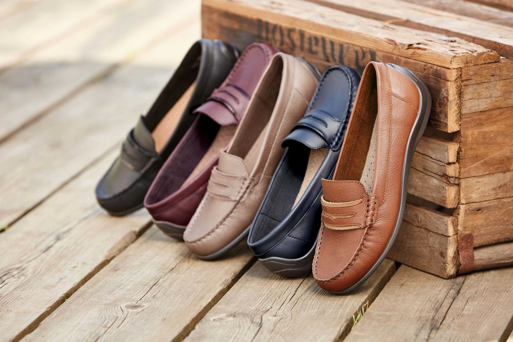 The Darcy pumps are the latest comfortable British made shoes by footwear experts Hotter.