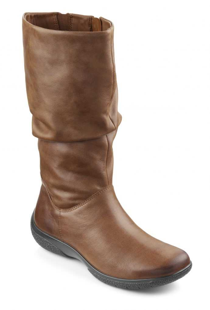 Comfortable women's boot Mystery in Tan
