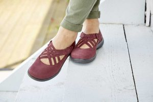 Comfortabel women's shoes, British made shoes, Hotter footwear, comfortable work shoes, Autumn colours, AW16