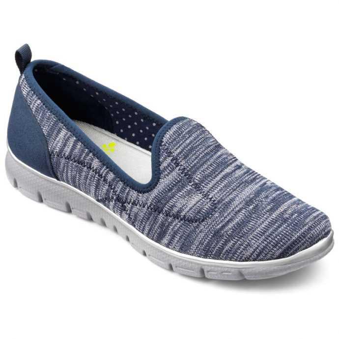 Comfortable women's shoes, Active footwear, women's trainers, British made shoes, Hotter Active range, wide fitting trainers, older lady trainers, cusioned shoes, podiatrist approved footwear