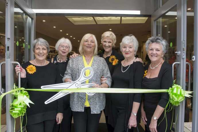The Calendar Girls officially opened our Leeds store.