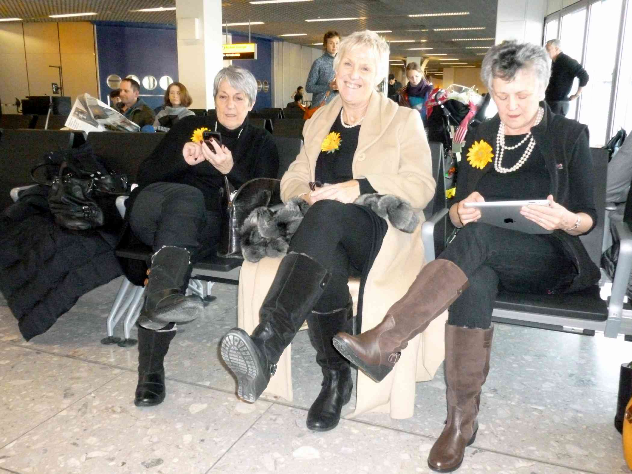 Stylish women's boots from Hotter - great for travel.