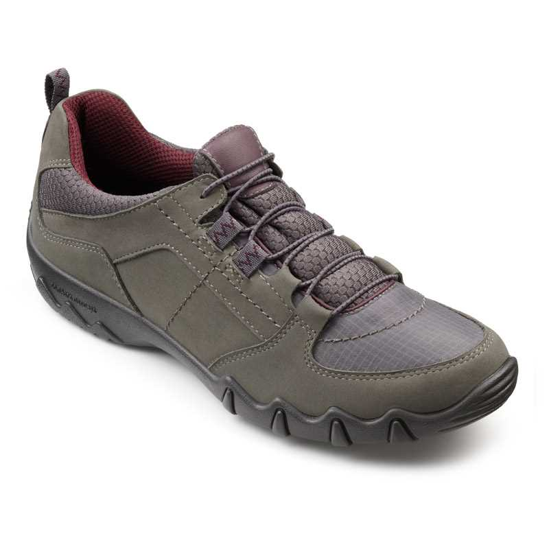 Comfortable women's shoes, Active footwear, women's trainers, British made shoes, Hotter Active range, wide fitting trainers, older lady trainers, cusioned shoes, podiatrist approved footwear, walking shoes, winter shoes, AW16