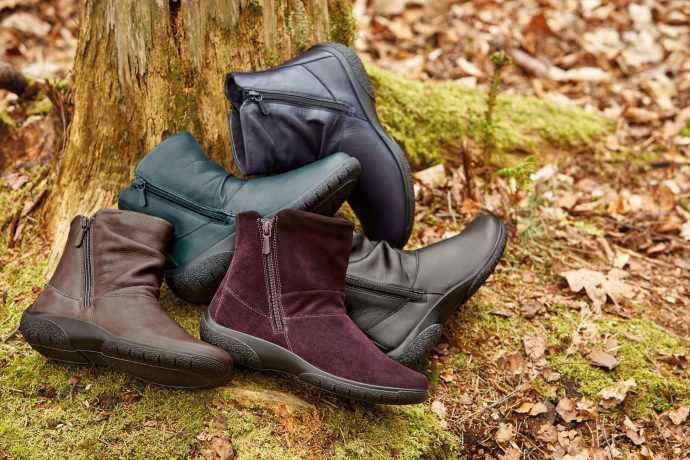 Winter boots, warm footwear, comfortable walking shoes, women's boots, comfortable women's shoes, luxury leather, British made shoes, British made boots