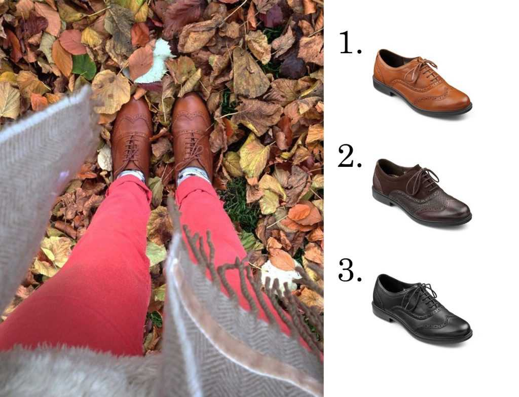 Village shoes, brogues, classic women's footwear, comfortable women's shoes, British made footwear, work shoes, AW16, winter shoes, cushioned footwear, wide fitting ladies shoes, lace-up shoes, Man tailored footwear, leather shoes