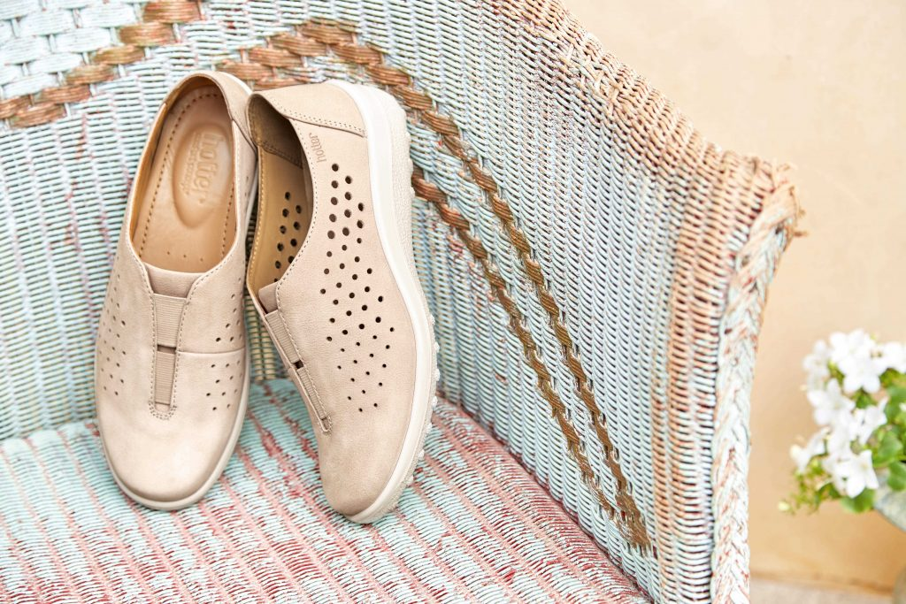 Hotter Originals, Hotter shoes, British made shoes, canvas pumps, trainers, active shoes, floral trend, SS17, new season shoes, leather shoes, comfortable women's shoes, casual shoes, Bliss shoes, wide fitting shoes