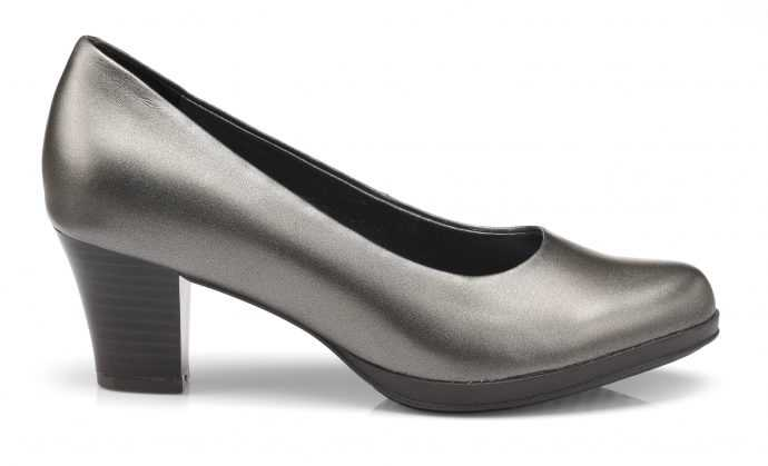 Women's platinum heel Angelica