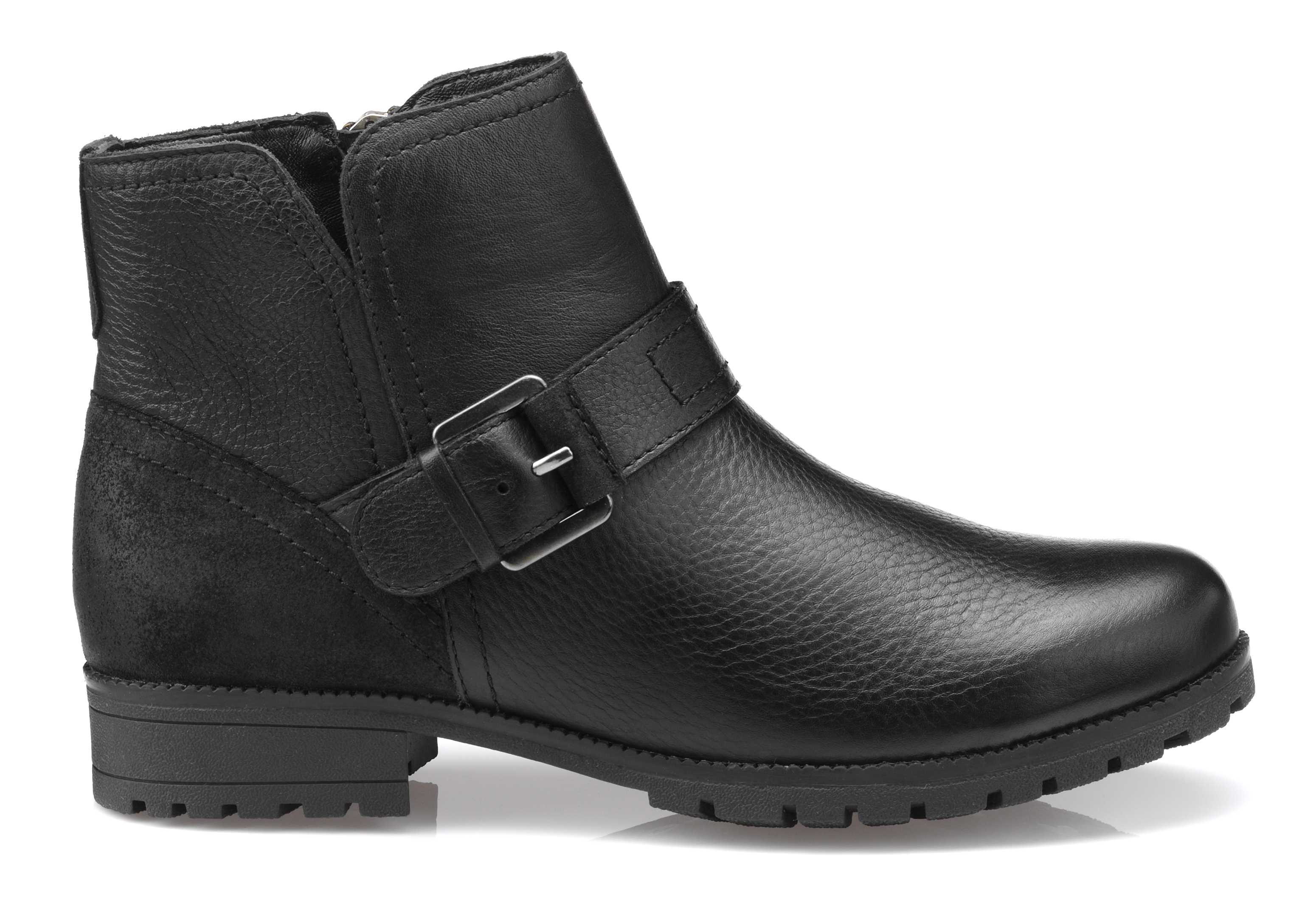 Women's biker boots Lotty in Black